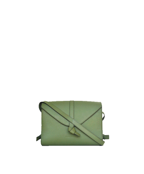 Cord Envelope Bag, green
