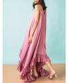 Kanelle Asymmetric Frill Dress