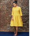 Mati Pleated Dress