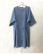 TPP Front Tie Dress, grey , s