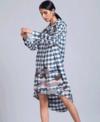 Doodlage Camo Shirt Dress