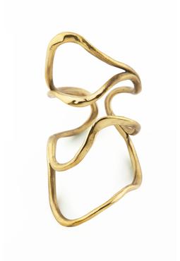 Manifest Serpent Cuff, gold