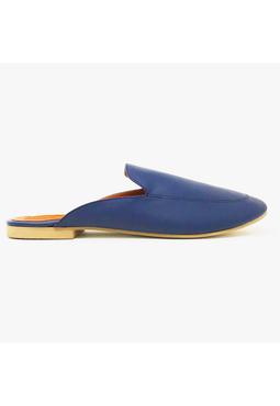 Taramay Navy Mules, blue, 36