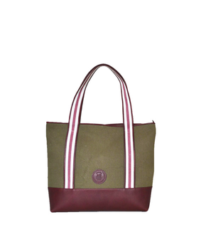 Cord Travel Tote, green