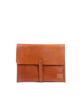 Brandless Laptop Folio, brown