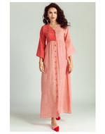 Jodi Aduke Maxi Dress, red, s