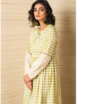 Jodi Salt Peasant Dress, yellow, s