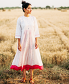 Sagaa Ivory Jamdani Dress