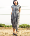 Twofold Infinite Pleated Dress