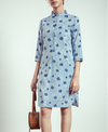Nete x Doodlage Front Pleat Dress
