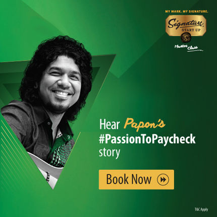 Signature Start-up Master Class Season 2 - Papon, Kolkata 3 February 2018 at 7: 30PM