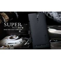 Nillkin Frosted Matte Hard Back Cover Case For Sony Xperia S SL LT26i - Black