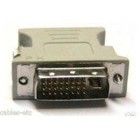 DVI-I 24+ 5pin Male to 15 pin VGA Female Adapter for Dual Monitor Display