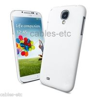 Rubberised Frost Matte Hard Back Case Cover For Samsung Galaxy S4 i9500 - White