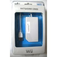 Original PEGA USB LAN Adapter / Network Card for Nintendo WII