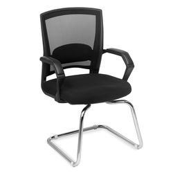 Hermit Visitor Chair,  black