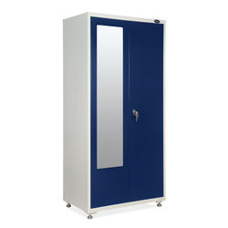 Olymipia 2Door Wardrobe,  blue/white