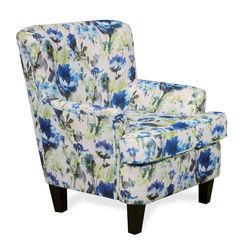 Wings Single Sofa Chair,  green