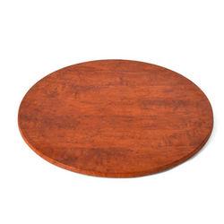 Zayka Round Basic Top,  cherry wood