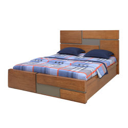 Natalia King Bed,  cherry