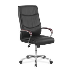 Admiral High Back Office Chair,  black