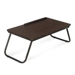 Vostro Folding Laptop Bed Desk,  walnut