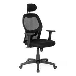 Diva Hb Mesh Chair With Headrest,  black