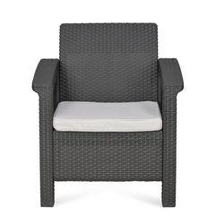 Goa One Seater Cushion,  grey
