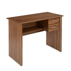 Bevel Study Desk,  walnut