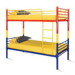 Venice Bunk Bed,  red/yellow/blue