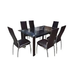 Bambino 6 Seater Dining Table,  brown