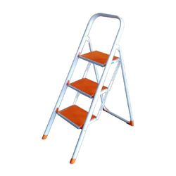 Delta 3 Step Ladder,  orange/white