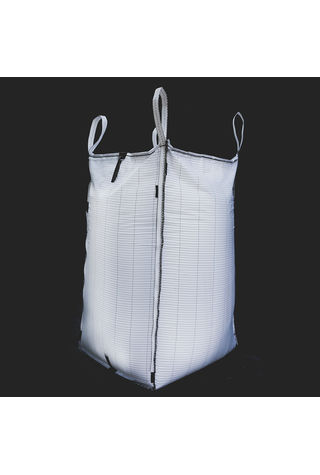 Conductive Bags, 90x90x200, 1250 kg, 5: 1, Top: Skirt, Bottom: Spout