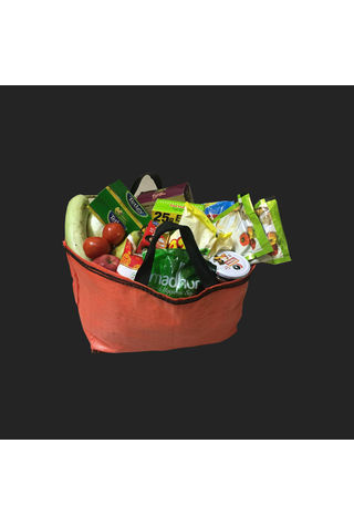 Bundle of 10 Shopping Bags, 45x20x32, 50 kg, 5: 1, Top: Open, Bottom: Flat
