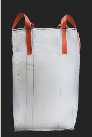 Tubular Bags, 90x90x120, 1000 kg, 5: 1, Top: Skirt, Bottom: Spout