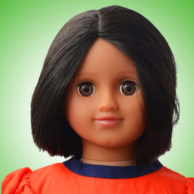 Taara Doll Package (Orange cutwork)