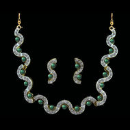 O Italian Fashion Jewellery 10135,  green