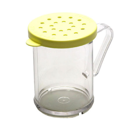 Polycarbonate Dredge Shaker with Cheese Lid