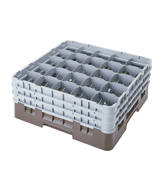 25 Compartment Washcrates with 3 Extender (7.7'')