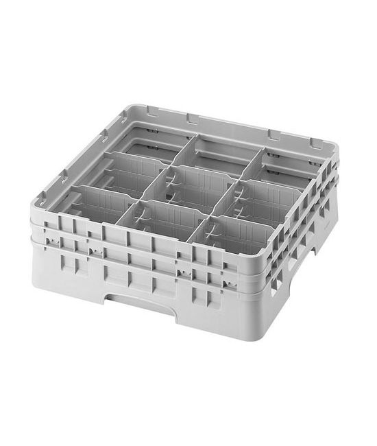 9 Compartment Washcrates with 2 Extender