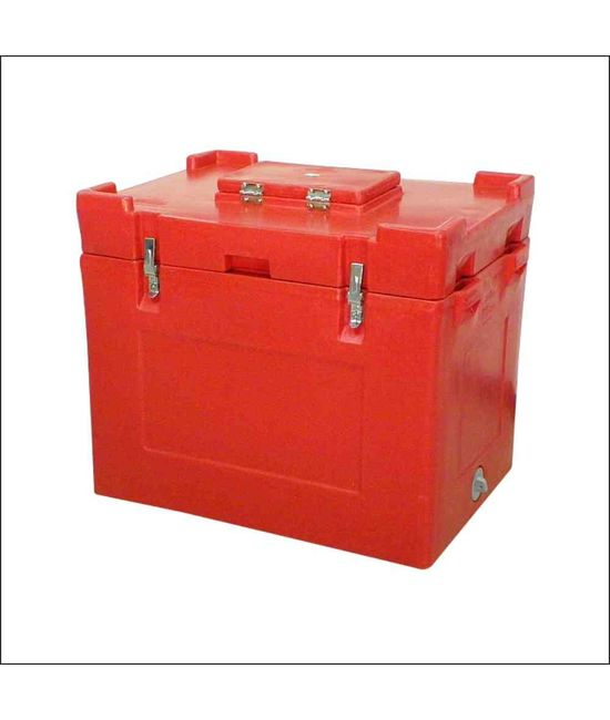 125 Litre Ice Box, 125, with vending lid & with tap