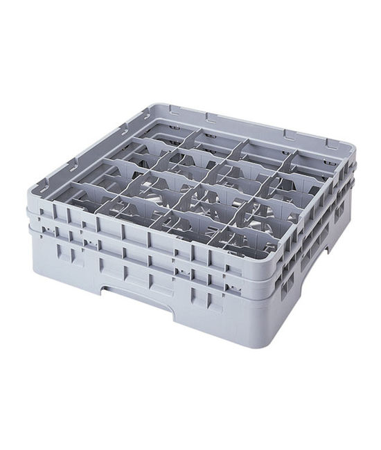 16 Compartment Washcrates with 2 Extender (6.2'')