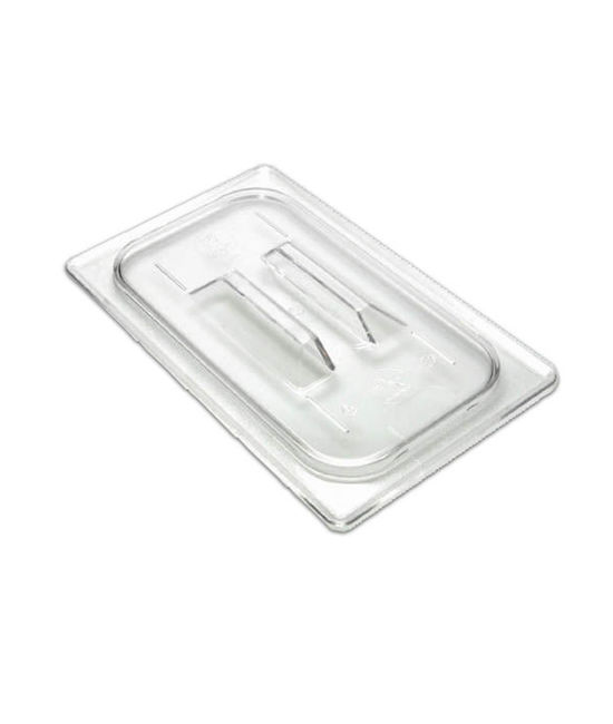 1/4 Size Flat Lid Cover with Handle for GN Pans