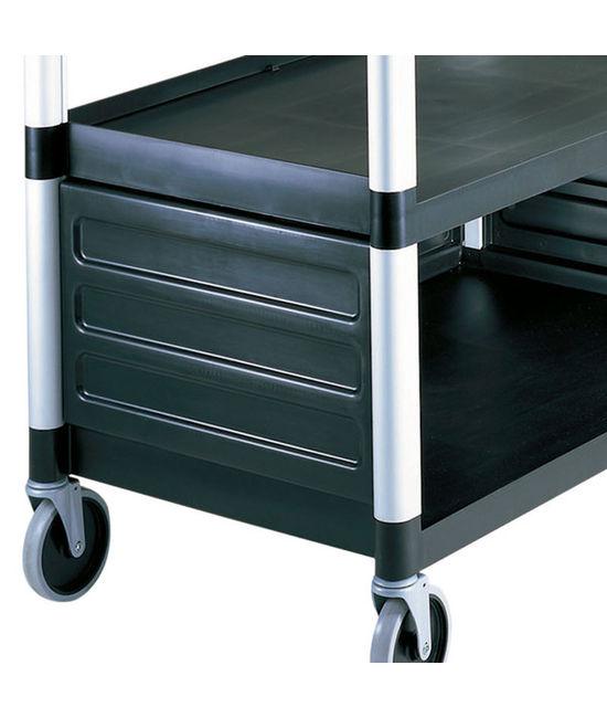 Single Shelf Panel Set for Utility Cart