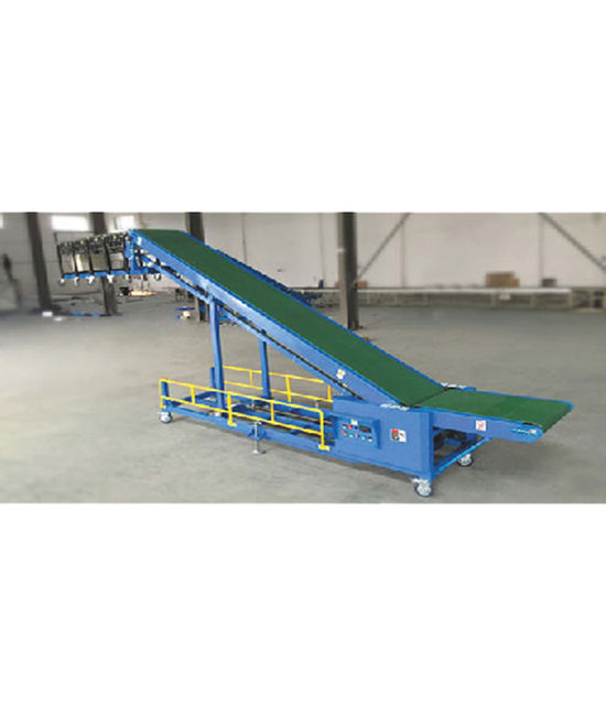 Truck Loading Unloading Conveyor