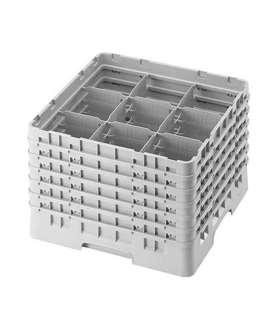 9 Compartment Washcrates with 6 Extender
