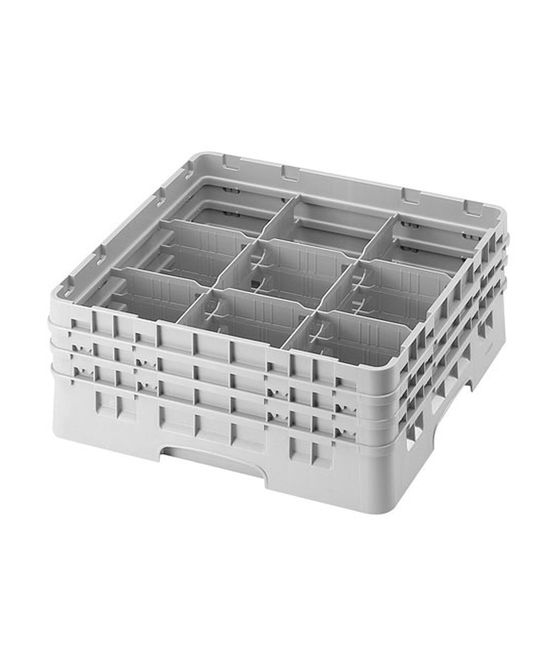 9 Compartment Washcrates with 3 Extender