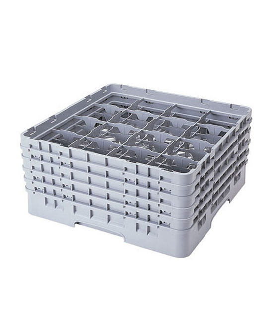 16 Compartment Washcrates with 5 Extender (10'')