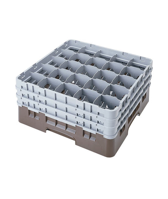 25 Compartment Washcrates with 3 Extender (6.5'')