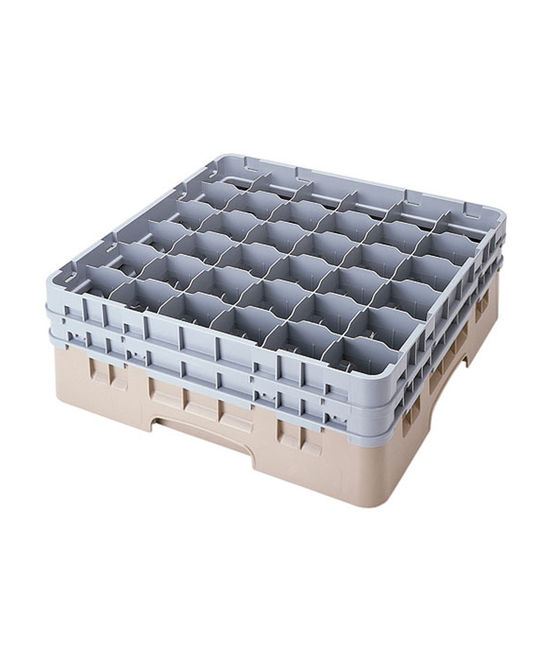 36 Compartment Washcrates with 2 Extender (5.2'')